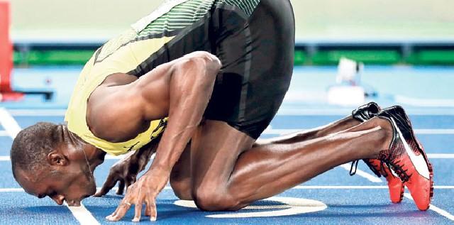 Useyn Bolt öz rekordunu yeniləyib