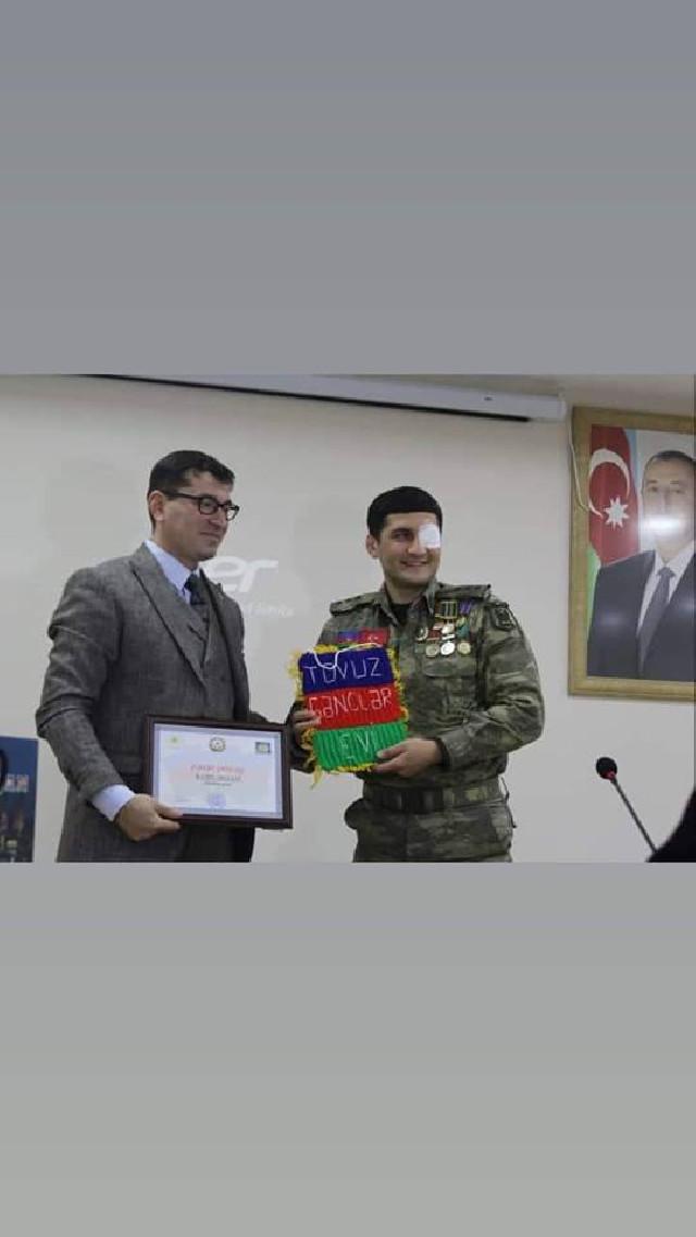 Kamil Musavi Tovuz Gənclər Evinin qonağı olub