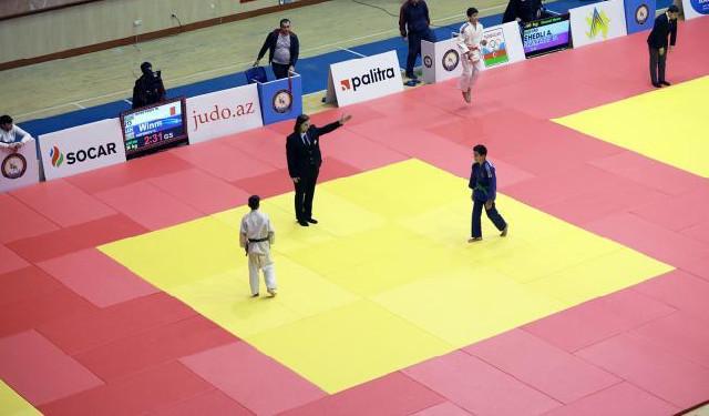 Cüdo üzrə Azərbaycan birinciliyində ilk günə yekun vurulub