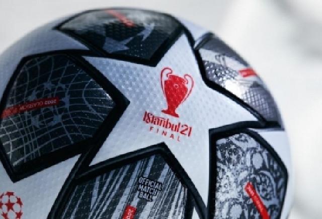 UEFA Çempionlar Liqasının yeni topunun üzərində İstanbulun adı yer alıb