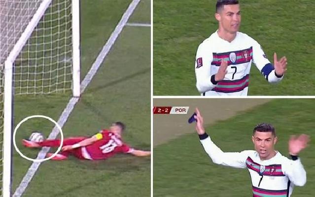 Ronaldonun təmiz qolu sayılmadı, çılğına döndü