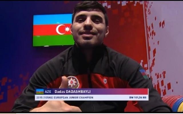 Avropa çempionatı: Daha bir ağırlıqqaldıranımız medal qazandı