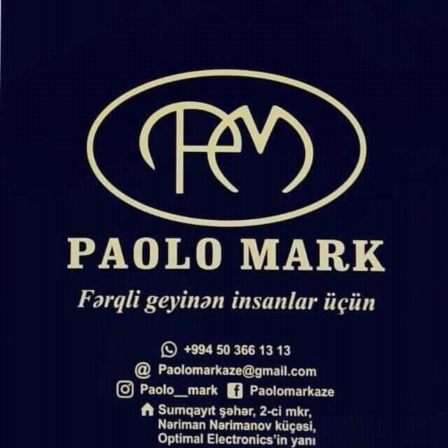 """""""Paolo Mark""""da möhtəşəm kompaniya"""