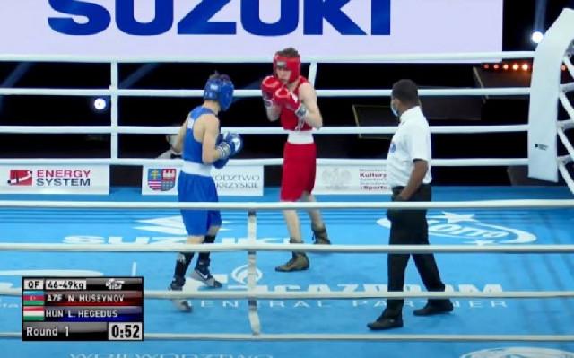 Dünya birinciliyi: Boksçumuz yarımfinalda erməni ilə qarşılaşacaq