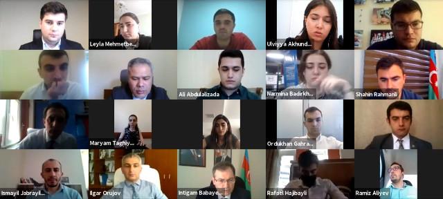 Beynəlxalq platformalarda təmsil olunan gənclər təşkilatlarının milli platforması yaradılacaq