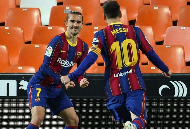 """""""Barselona"""" 3 xalı 3 qolla qazandı"""
