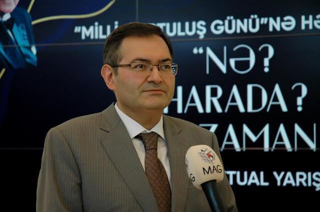 """Tələbələr arasında """"Nə? Harada? Nə zaman?"""" intellektual oyunu keçirilib"""
