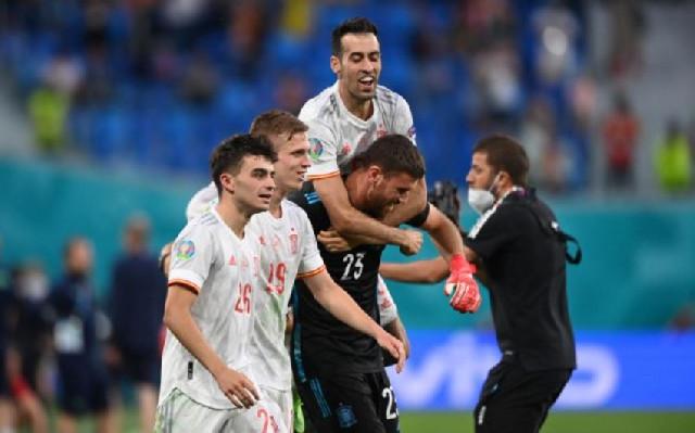 AVRO-2020: İspaniya yarımfinala yüksəldi