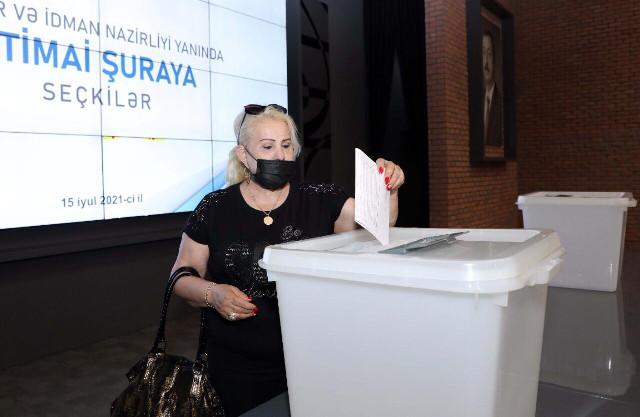 Gənclər və İdman Nazirliyi yanında İctimai Şuraya seçkilər təşkil edilmişdir
