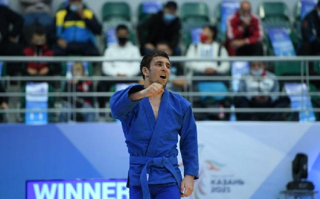 MDB Oyunları: Azərbaycan samboçuları növbəti medalı qazanıb