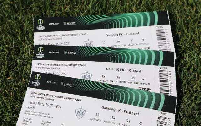 """""""Qarabağ"""" - """"Bazel"""" matçına nə qədər bilet satılıb?"""