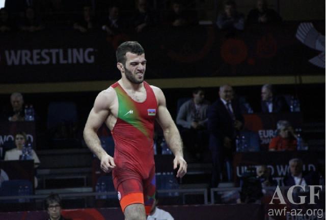 Dünya çempionatı: Azərbaycan güləşçisi yarımfinala yüksəlib